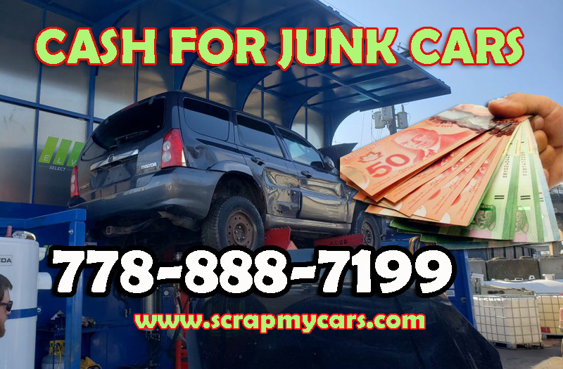 cash for junk car Langley,BC