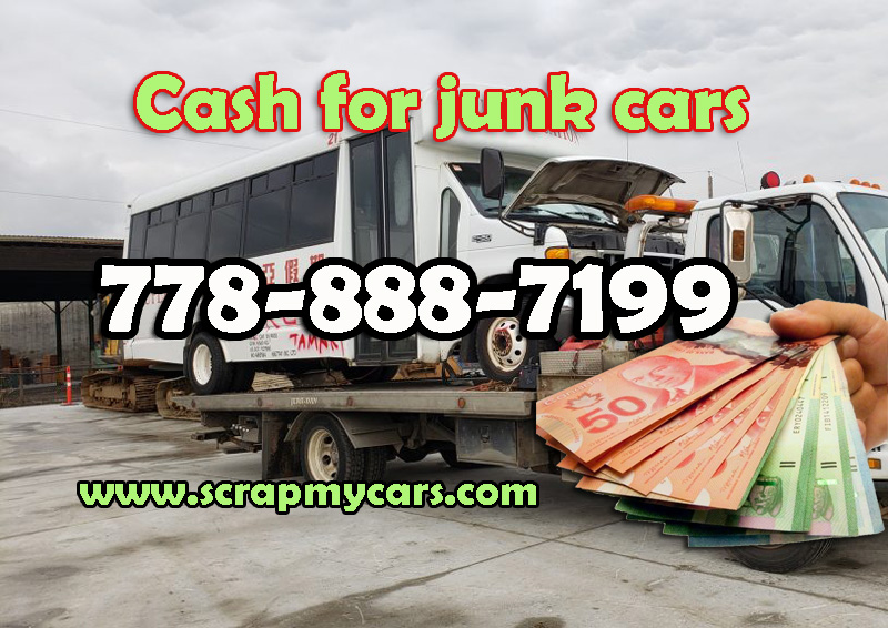 cash for junk car New Westminster BC